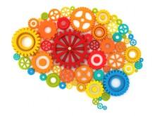 Мозг в виде шестеренок