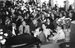 Зал был переполнен учителями, приехавшими из разных городов