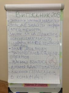 Мозговой штурм по навыкам 21 века, Intel Teach в Харькове