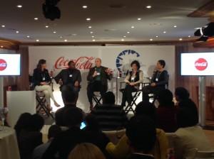 Панельная дискуссия с лидерами Coca-Cola